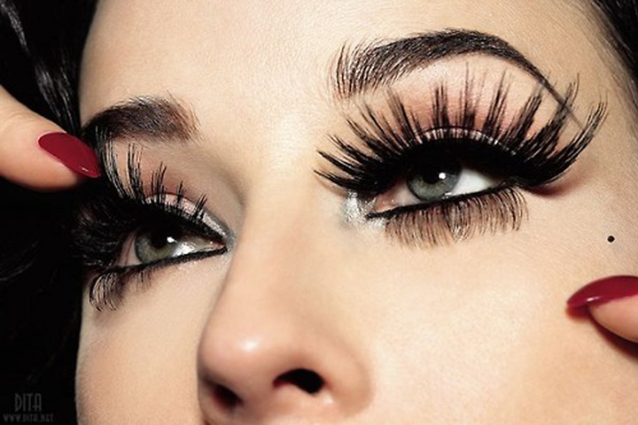 Image result for long lashes