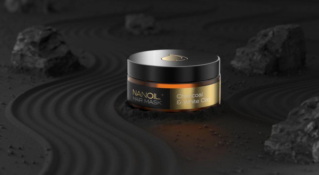 nanoil charcoal hair detox mask