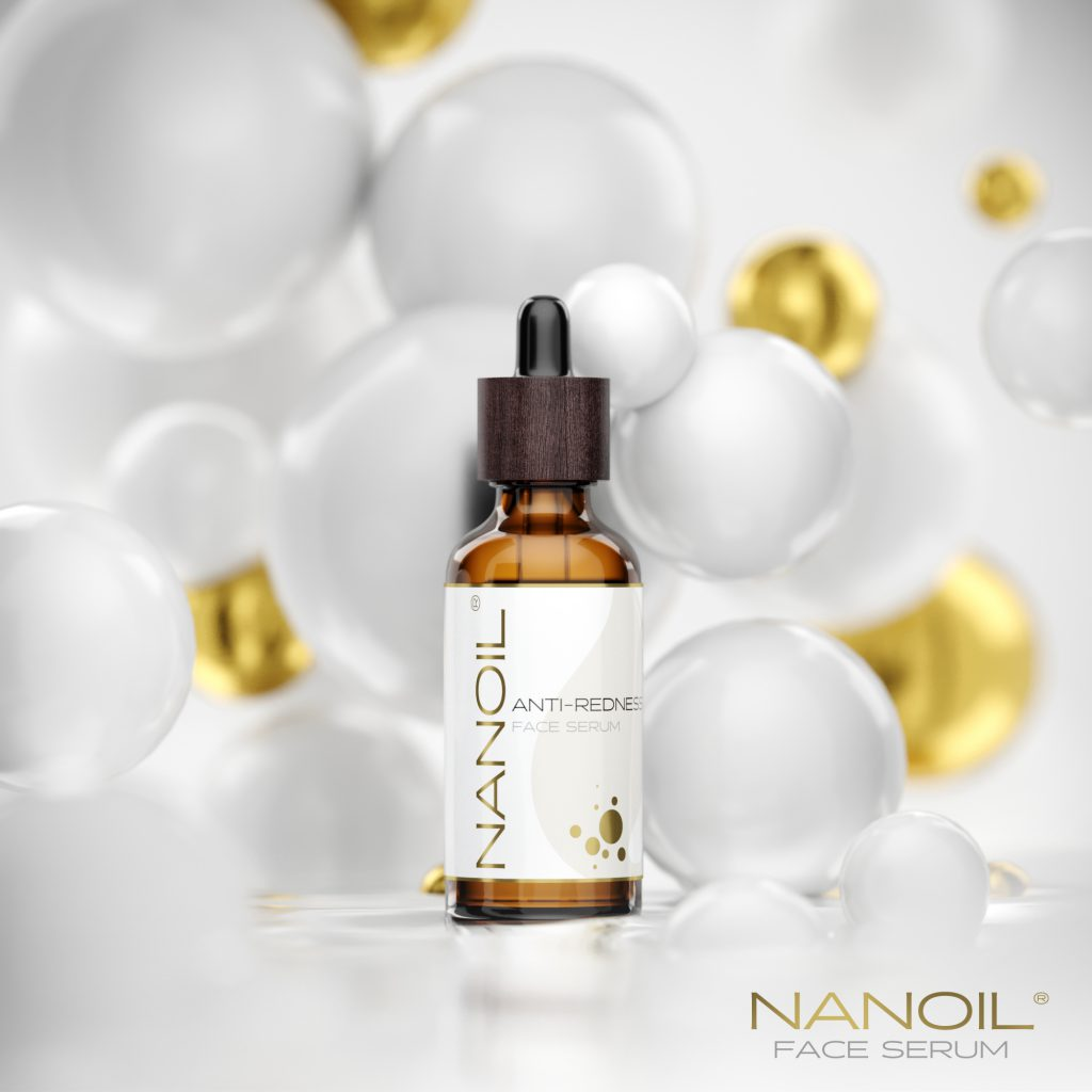 Nanoil anti-redness face serum